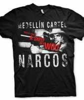 Goedkoop narcos medellin cartel carnavalskleding heren shirt