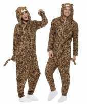 Goedkoop pyamacarnavalskleding tijger dames heren