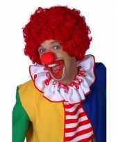 Goedkoop rode clowns pruik carnavalskleding