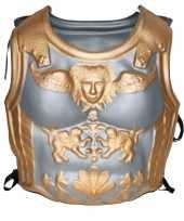 Goedkoop romeinen harnas zilver goud carnavalskleding