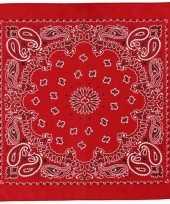 Goedkoop sjaal rood print carnavalskleding
