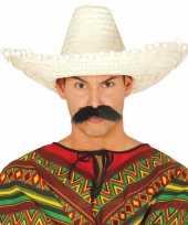Goedkoop verkleed sombrero rood mexico volwassenen carnavalskleding 10148187