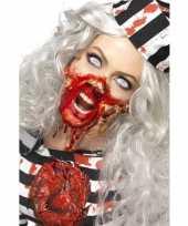 Goedkoop zombie latex make up set carnavalskleding